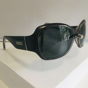 "COACH NEW YORK ""DELANEY"" Sunglasses Frame. Gray."